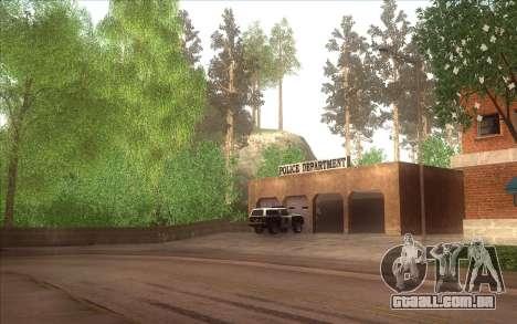 A revitalização da aldeia Dillimore para GTA San Andreas por diante tela