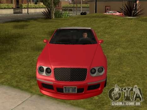 Cognoscenti Cabrio para GTA San Andreas vista direita