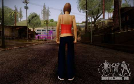 Ginos Ped 9 para GTA San Andreas segunda tela