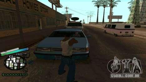 C-HUD New Style para GTA San Andreas terceira tela