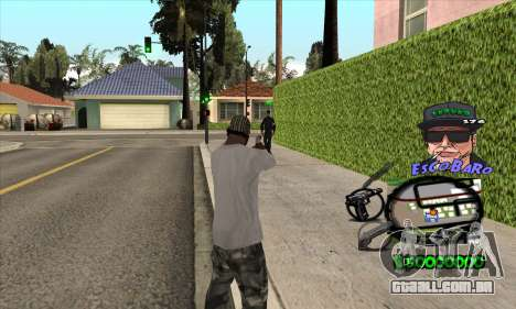 C-HUD by Travis Escobaro and Matthew Escobaro para GTA San Andreas segunda tela