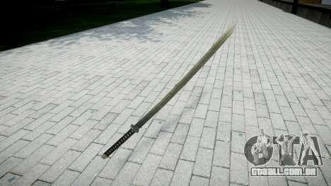 Espada-Yamato- para GTA 4