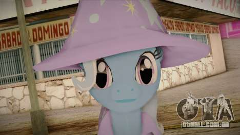 Trixie from My Little Pony para GTA San Andreas terceira tela