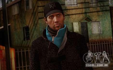 Aiden Pearce from Watch Dogs v9 para GTA San Andreas terceira tela