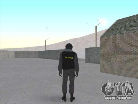Soldados da MIA da Federação russa para GTA San Andreas segunda tela