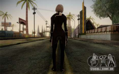 Karin Chakwas from Mass Effect para GTA San Andreas segunda tela