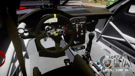 Porsche 911 Super GT 2013 para GTA 4 vista interior