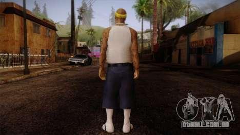 Fresno Buldogs 14 Skin 3 para GTA San Andreas segunda tela