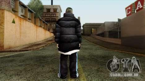 GTA 4 Skin 1 para GTA San Andreas segunda tela
