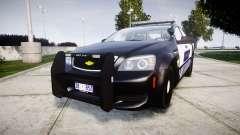 Chevrolet Caprice 2012 Sheriff [ELS] v1.1 para GTA 4