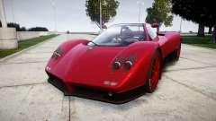 Pagani Zonda C12 S 7.3 2002 PJ2 para GTA 4