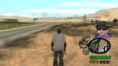 C-HUD by Travis Escobaro and Matthew Escobaro para GTA San Andreas