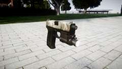 Pistola HK USP 45 floresta
