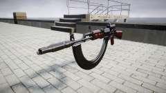 Автомат АК-47 Colimador. Focinho e HICAP targe