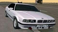 BMW 525 Turbo limousine para GTA San Andreas