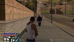 C-HUD by SampHack v.4 para GTA San Andreas