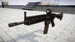 Máquina HK416 AR-alvo