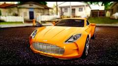 Aston Martin One-77 Black para GTA San Andreas