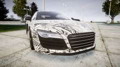 Audi R8 plus 2013 HRE rims Sharpie