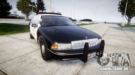 Chevrolet Caprice 1991 LAPD [ELS] Traffic para GTA 4