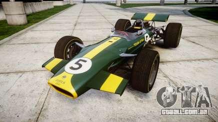 Lotus Type 49 1967 [RIV] PJ5-6 para GTA 4