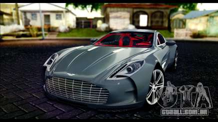 Aston Martin One-77 Red and Black para GTA San Andreas