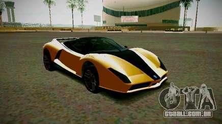 Cheetah из GTA 5 para GTA San Andreas