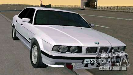 BMW 525 Turbo limousine para GTA San Andreas