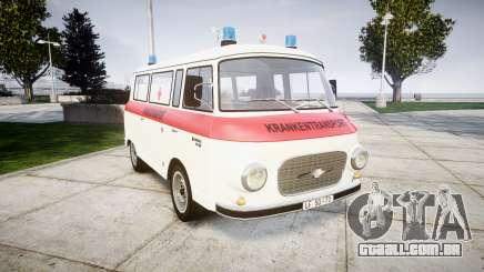 Barkas B1000 1961 Ambulance para GTA 4