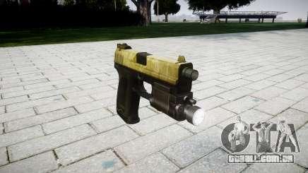 Pistola HK USP 45 azeite para GTA 4