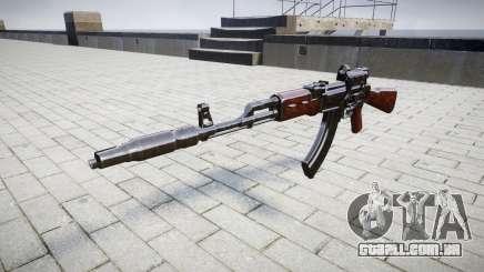 Автомат АК-47 Colimador e o Focinho de freio alvo para GTA 4