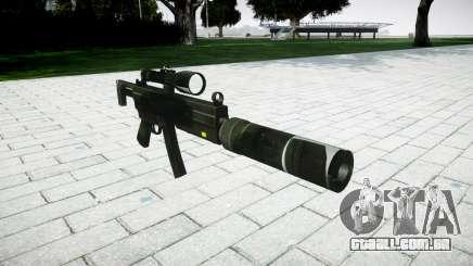 Tática submetralhadora MP5 para GTA 4