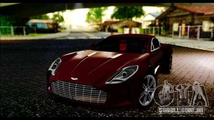 Aston Martin One-77 Black and Red para GTA San Andreas