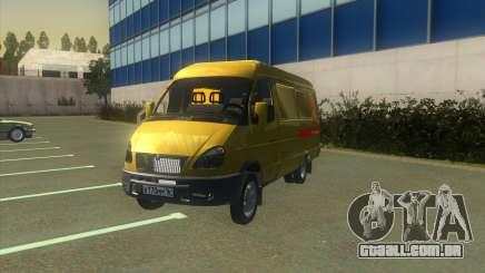 Gazela 2705 Coleção Do Banco Alfa para GTA San Andreas