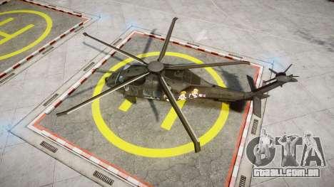Sikorsky MH-X Silent Hawk [EPM] Printemps para GTA 4 vista direita