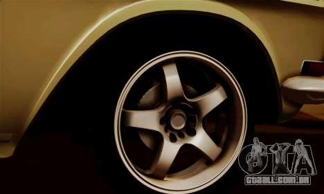 GAZ 24 Volga para GTA San Andreas vista interior