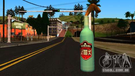 Molotov Cocktail from GTA 4 para GTA San Andreas
