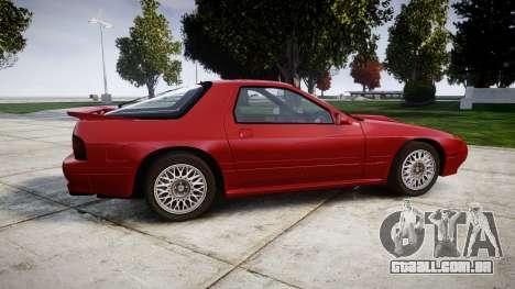 Mazda RX-7 1990 FC3s [EPM] para GTA 4 esquerda vista