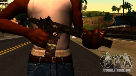 HoneyBadger from CoD Ghosts v2 para GTA San Andreas