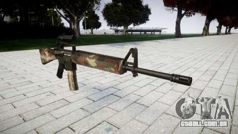 O M16A2 rifle [óptica] berlim para GTA 4