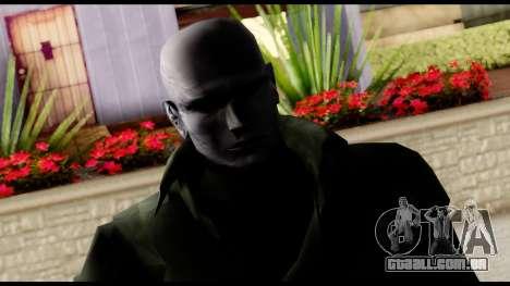 Resident Evil Skin 12 para GTA San Andreas terceira tela