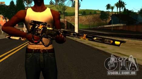 Laser Rifle Wattz 2000 para GTA San Andreas terceira tela