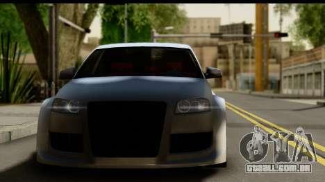 Audi A3 Tuning para GTA San Andreas traseira esquerda vista