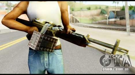 M63 from Metal Gear Solid para GTA San Andreas terceira tela