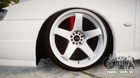 Nissan Silvia S14 Kouki Hellaflush para GTA 4 vista de volta