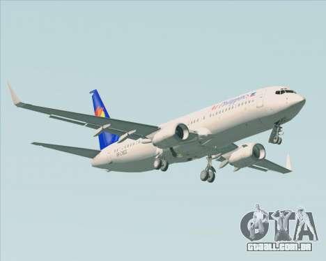 Boeing 737-800 Air Philippines para o motor de GTA San Andreas