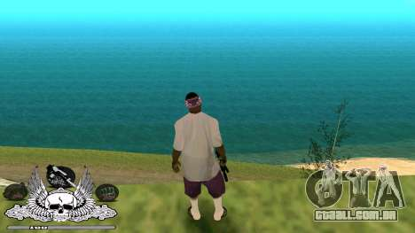 C-HUD Gueto Quarto para GTA San Andreas terceira tela