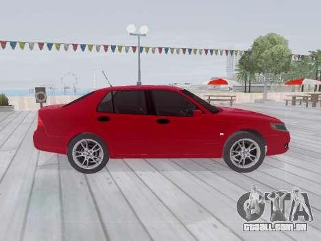Saab 95 para GTA San Andreas vista interior