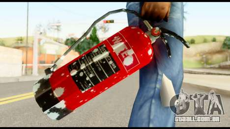 Fire Extinguisher with Blood para GTA San Andreas terceira tela