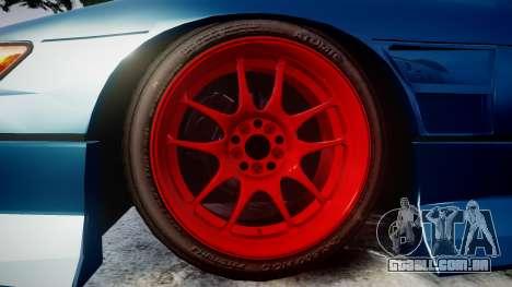 Nissan Silvia S13 1JZ para GTA 4 vista de volta